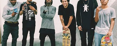 The Skaters Who Get Paid to Hang Out with Lil Wayne