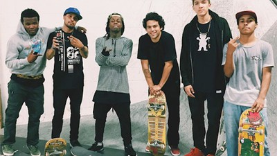 The Skaters Getting Paid to Hang Out with Lil Wayne