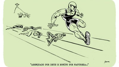 O Rio Olímpico no traço do ilustrador Sama