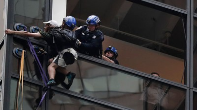 What We Know About 'Steve,' the Guy Who Climbed Trump Tower with Suction Cups