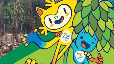 Las mascotas olímpicas simbolizan a todos los animales a los que Brasil ha desterrado