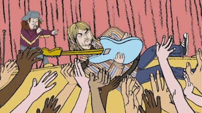 Here's What Kurt Cobain Originally Wanted to Do for the  'All Apologies' Video