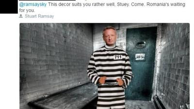 Cele mai amuzante miștouri făcute de români pe seama reporterului Sky News