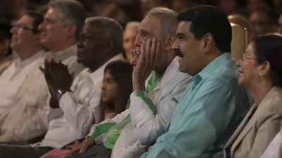 Fidel Castro trägt jetzt nicht mehr Adidas