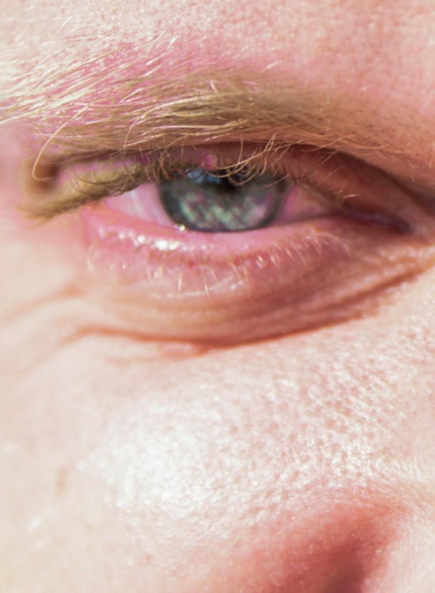 Ein Blick in die glasigen Augen der Besucher der Hanfparade