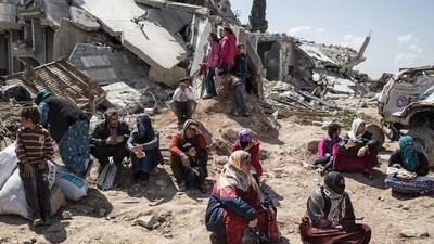 Kobane: Bocetos de una ciudad siria bajo asedio