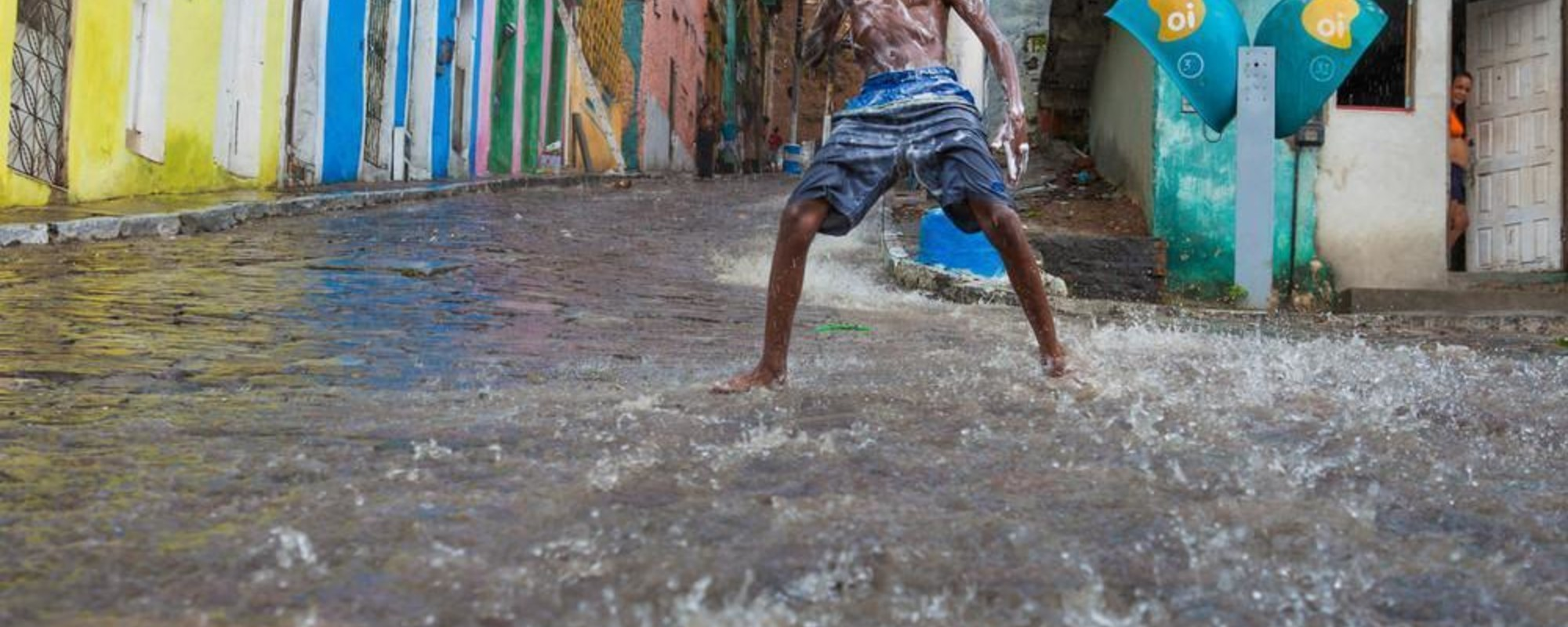 Photos of Fire, Rain, and Dance on the Streets of Salvador