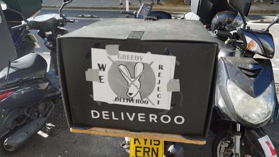 Why Deliveroo Riders Are Protesting in London