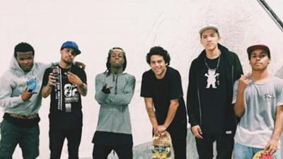 Deze skateboarders worden betaald om met Lil Wayne te hangen