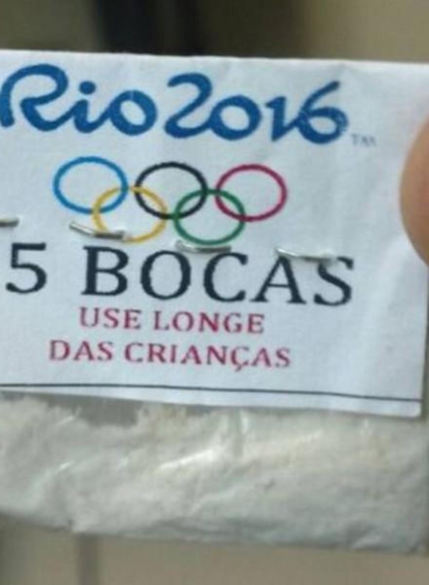 Die Drogendealer von Rio wissen, wie man seine Ware verpackt