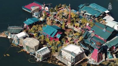 Diese Künstler haben nach 24 Jahren ihre eigene Insel fertiggestellt