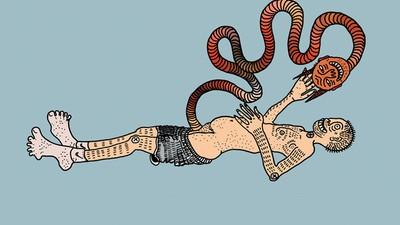 Los demonios femeninos son representados en las ilustraciones de Polly Nor