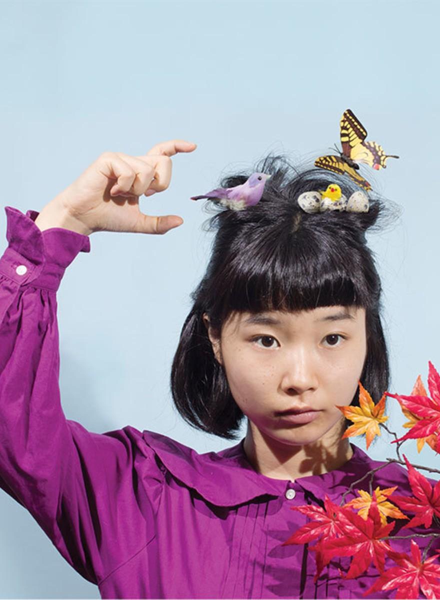 Eine japanische Fotografin untergräbt Stereotype mit Witz und Wahnsinn