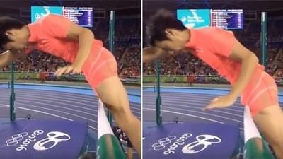 Quando um pênis arruína seu sonho olímpico
