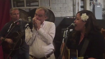 Watch Tim Kaine Shred the Harmonica While His Wife Does Soft Shoe