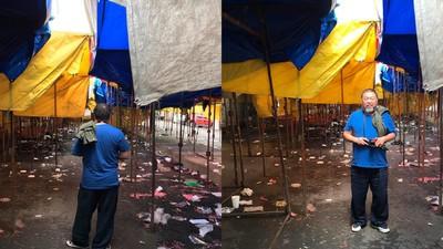 Ai Wei Wei visitó el barrio de Tepito en la Ciudad de México