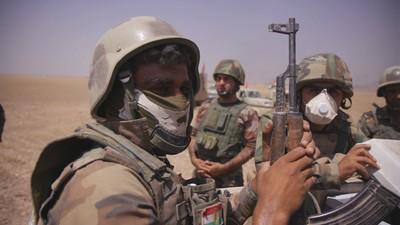 Kampf um Mossul: Mit den Peschmerga unter IS-Beschuss