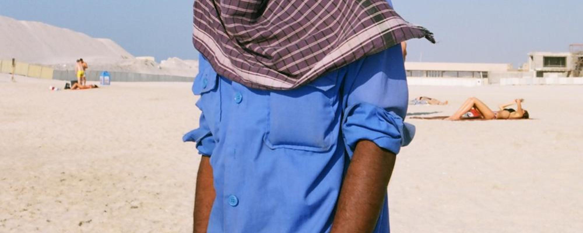 Foto's van het leven aan de rand van de Arabische woestijn