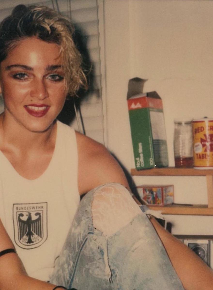 Las 66 polaroids perdidas de Madonna en 1983