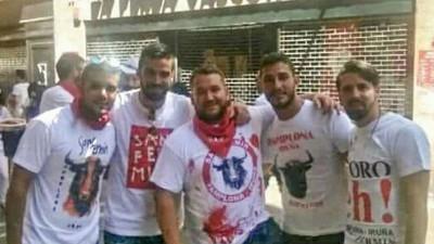 Los WhatsApp de los violadores de San Fermín: 'Follándonos a una entre 5'