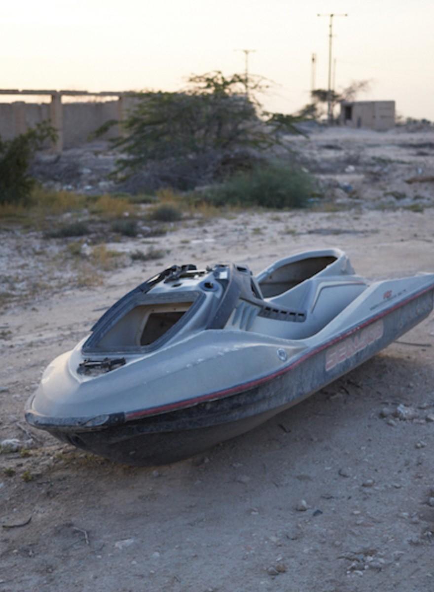 Foto's van het verdwijnende Doha