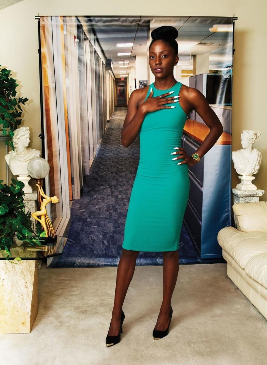 Junge schwarze Frauen an der Schwelle zur Arbeitswelt