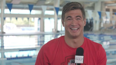 We Asked Olympian Nathan Adrian Questions That Have Nothing to Do with Swimming