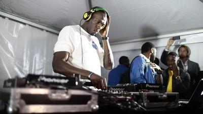 La subestimada carrera de DJ de Usain Bolt