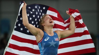 How Helen Maroulis Became the First American Woman Wrestler to Win Gold