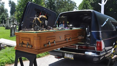 The Hearse Collectors Who Pimp Out and Show Off Their Morbid Rides