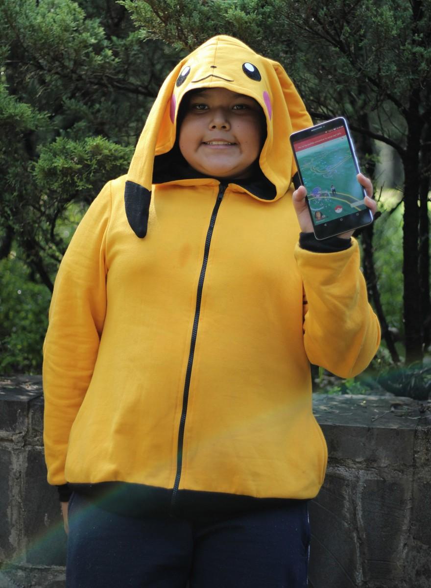 Estampida Pokémon en el Bosque de Chapultepec