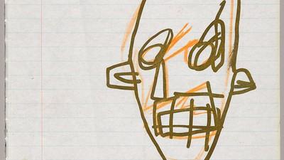 Mira una colección inédita de Jean-Michel Basquiat