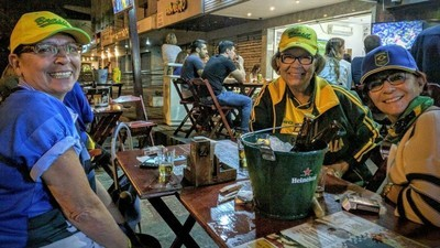 Watching Neymar and Brazil Win Gold with Three Old Ladies