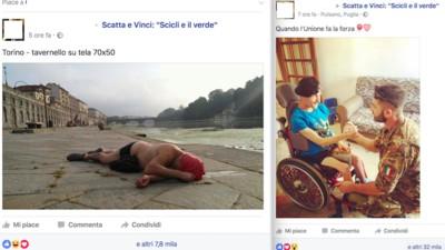 Questo contest fotografico Facebook su una città siciliana è completamente degenerato