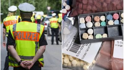Der Polizei geht schnell einer ab, wenn sie bunte Pillen sieht