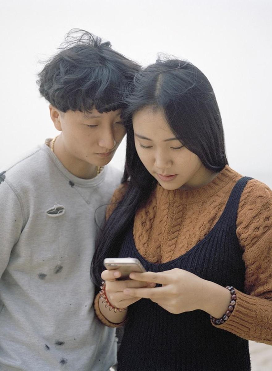 Fotografiando las parejas secretas de esta isla en China