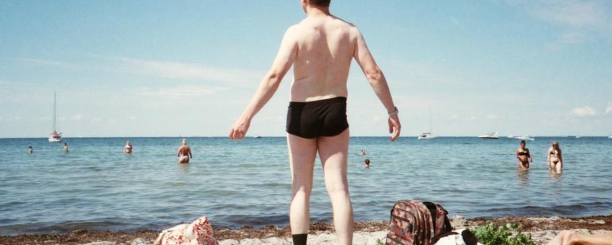 Fotos de daneses sudorosos celebrando los últimos días del verano