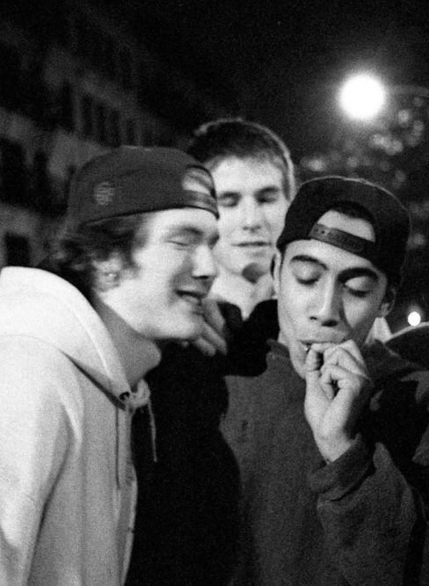 Adolescenți din perioada în care New Yorkul era un oraș sălbatic