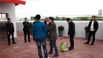 Avec la communauté chinoise après l'assassinat de Zhang Chaolin à Aubervilliers
