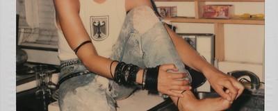 As polaroids inéditas de Madonna antes da fama