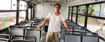 """""""Si no generas, tu familia no come"""": un día en la vida de un microbusero"""