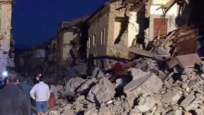 Le notizie sul terremoto che ha colpito il centro Italia
