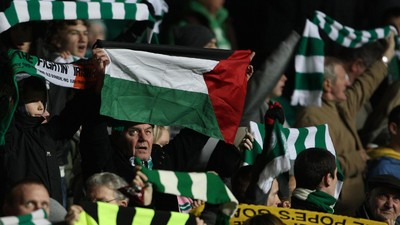 Who Are the Green Brigade, the Celtic Fans Raising Money for Palestine?