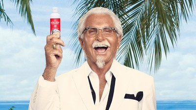 KFC's New Sunscreen Smells of Fried Chicken and Desperation