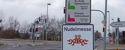 Eine Brandenburger Gemeinde bekämpft die Kirche des Fliegenden Spaghettimonsters