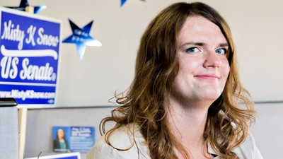 Meet the Trans Woman Running for Senate in a Mormon State