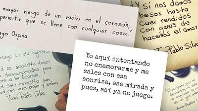 Hablamos con poetas virales colombianos para entender su secreto