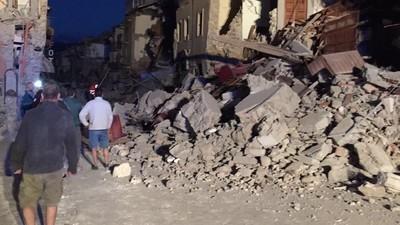 Violent séisme en Italie : plusieurs morts et blessés dans le centre du pays