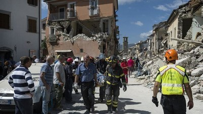 An Emergency Psychologist Explains What She's Doing for Italy's Earthquake Victims