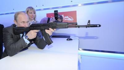 Los amantes del AK-47 ya pueden comprar souvenirs del Kalashnikov en un aeropuerto ruso